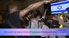 City Sounds Entertainment has everything you need to give your child a Mitzvah fit for a Rockstar. Ethan definitely felt like a Rockstar at his Bar Mitzvah on Saturday December 21st at the American Hotel in Freehold, NJ. (http://americanhotelnj.com/) CSE set up one of our 50' High Definition Video Screens that displayed Custom Graphics and a charming photo montage of Ethan for his guests to enjoy after dinner. www.citysoundsentertainment.com