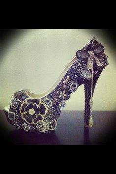 Steampunk shoe
