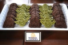 Star Wars Reads Day - Need to get those Williams Sonoma cookie cutters...