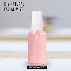 Every individual loves to pamper her skin, with the nice facial mist specially during the time of summer. So why not a natural mist prepared at home which gives you the best result and turn you rel… Homemade Facials, Homemade Skin Care, Diy Skin Care, Homemade Beauty, Diy Beauty, Beauty Skin, Beauty Secrets, Beauty Tips, Diy Face Mist