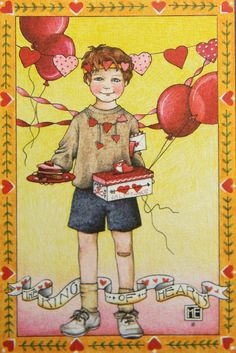 The King of Hearts-Mary Engelbreit Reminds me of our 2 boys a long time ago, but just like yesterday