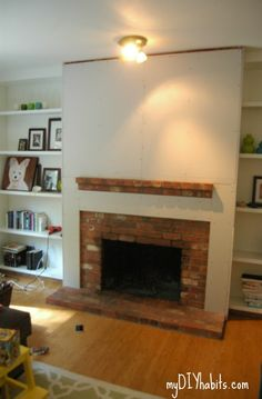 Before and After Fireplace Photos - Add space and value to your ...