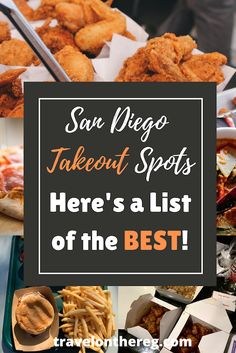 San Diego has all kinds of yummy things for you to taste test in your pajamas. Check out this list of the BEST San Diego food delivery and takeout options to feed your hanger! San Diego Vacation, San Diego Travel, San Diego Food, Brunch Spots, Best Street Food, California Travel, Foodie Travel, New Recipes, The Best