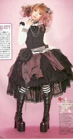 I need a good Punk Loli outfit...I have something very similar for my BJD.