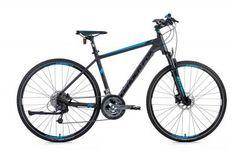 bicykel--crossovy-leader-fox-point-19---seda-matna/modra Fox Point, Merida, Bicycle, Bike, Bicycle Kick, Bicycles