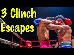 3 Muay Thai Clinch Escapes and Defenses Muay Thai Techniques, Muay Thai Training, Street Fights, Fight Club, Wing Chun, I Work Out, Self Defense, Kickboxing, Jiu Jitsu