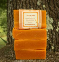 Carrot and Honey Soap