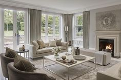 There are many elegant living room ideas that you might decide to get applied in your living room design. Because you have landed here then most probably you want Elegant living room answer. French Living Rooms, French Country Living Room, Elegant Living Room, Formal Living Rooms, Living Spaces, Contemporary Living Room Decor Ideas, Country French, Small Living, Modern Decor