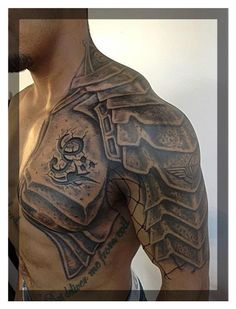 Half-sleeve & Shoulder. Gladiator Armor #Christmas #thanksgiving #Holiday #quote