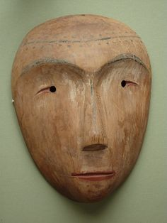 freakyfauna:    Wooden Inuit Mask