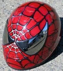 Spiderman motorcycle helmet - for my next motorcycle...