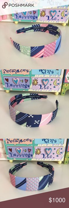 New! Vineyard Vines Patchwork Silk Tie Headband New! Vineyard Vines Patchwork Silk Tie Headband Hair Accessory. Brand new without tags. Never worn! Perfect condition. Please ask any and all questions prior to purchasing. If you need more pics, just ask! 😊 Vineyard Vines Accessories Hair Accessories