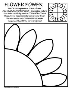 20 activities to ease you and your kids into summer! Collaborative projects, art and classroom sub lessons, flowers.
