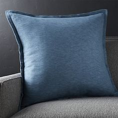 "Linden Indigo Blue 23"" Pillow"