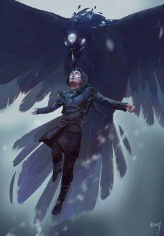Bran Stark, por Julie Kabbache