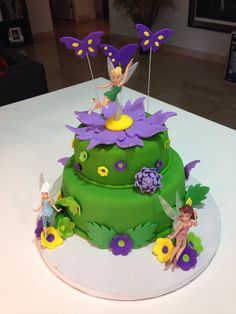 Maybe the tinkerbell cake for Zoe's birthday as per request of Hayden!