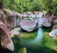 Free Camping at Babinda Boulders near Cairns, Australia Cairns Australia, Western Australia, Australia Travel, Cairns Queensland, Weekend Camping Trip, Camping Life, Camping Gear, Road Trip, California Camping
