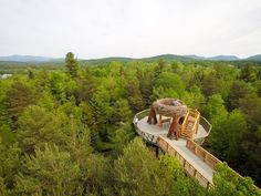 When the Wild Walk opens on July 4, visitors to the Adirondacks will get to see the region's lush landscape and diverse wildlife from a new perspective.