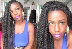 Senegalese Twists | 20 Natural Hairstyles To Combat Summer Heat And Humidity