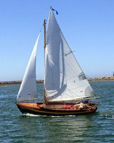"Somes Sound 12 1/2 by Brooks Boats Designs (David Johnson's ""L'Etoile Du Matin"")"