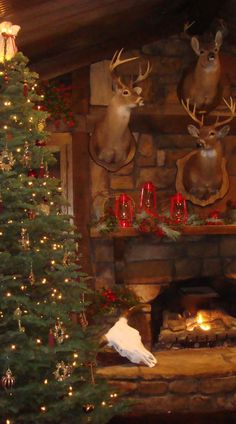 Rustic Christmas time at the cabin - From Janet Ezell in Gilbert, Louisiana