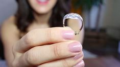While properly resizing a ring at a jewelry store is ideal, we love this trick to temporarily size a ring that's too big.