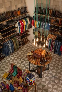 Desire to Inspire Painted Vinyl Floors, Vinyl Flooring, Stenciled Floor, Dress Me Up, Shoe Rack, Interior, Shopping, Retail, Home