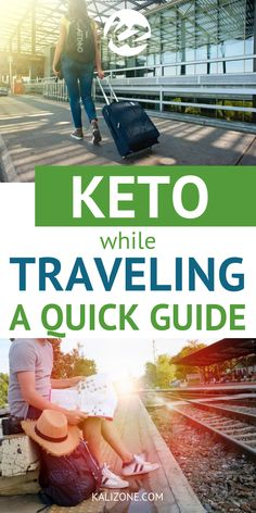 Are you wondering how you can stick to your keto diet while traveling? These quick tips will help you out!