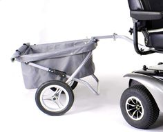 Carry carts for power chairs and scooters. #Wheelchair Accessories