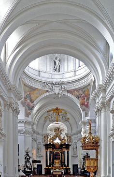 interior, Fulda Cathedral, Germany - Architecture