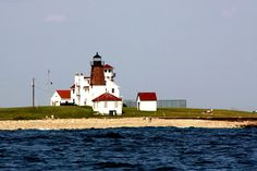 Point Judith Lighthouse from the water