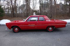 1966 Plymouth Fury I Fire Marshal Fire Dept, Fire Department, Plymouth Fury, Real Fire, Fire Equipment, Rescue Vehicles, Fire Apparatus, Hot Rides, Emergency Vehicles