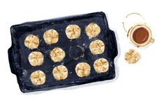 MintysTable Amaretti Cookies - Lauren Monaco