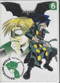 Steam Detectives - Vol. 6: Case Six (DVD, 2004)