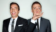 Jimmy Fallon & Justin Timberlake  two of my favorite celebs