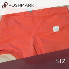 """Old Navy coral shorts Old Navy Pixie shorts. 3.5"""" length. NWT size 16 Old Navy Shorts"""