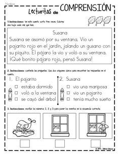 lecturas infantiles y cuentitos para trabajar la comprensión lectora -Orientacion Andujar