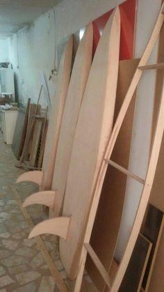 Sörf imalatımız başladı A ahşap
