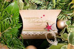 Pillow Box für feine Geschenke | Zauberhafte Stempelinsel