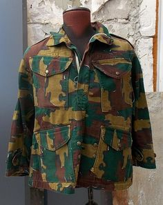 Kurtka wojskowa Belgijska
