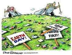 Practice what you preach, make everyday Earth Day #greenup