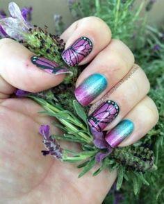 #jamberrynails #butterflykisses #carnival  Http://crystalvigil.jamberrynails.net