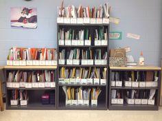 Individualized ESOL reading folders
