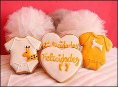 Tutururú: GALLETAS DECORADAS bebe baby cookies