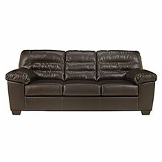Signature Design By Ashley Proclaim Bonded Leather Match Sofa At Lots