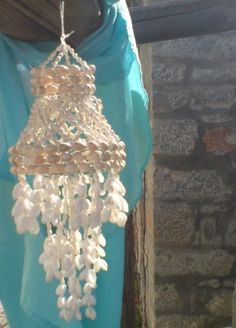 Summer NightsShell Chandelier Windchime