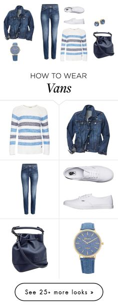 """Spring"" by barbaratweten on Polyvore featuring Barbour, Tory Burch, Gap, Vans and Spring2017"