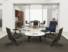 #Reff profile e #lounge #seating by #knoll na @EscinterMS . O maior portfolio de produtos para seu #workplace .  #WorkspaceWednesday
