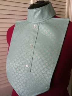 Silver Blue English Hunt Seat Show Shirt Dickie Ratcatcher Tuff Image 2014 | eBay