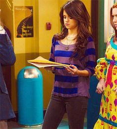 Selena Gomez on Wizards of Waverly Place.